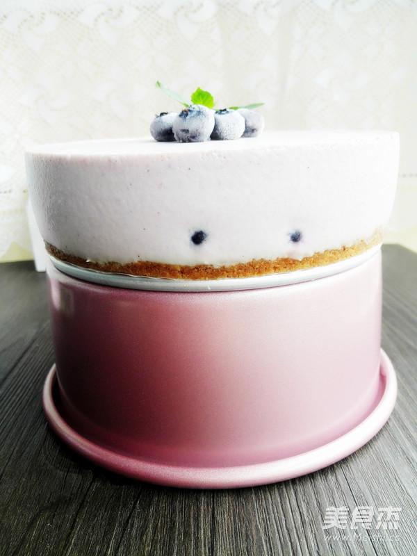 蓝莓果酱慕斯蛋糕怎样做