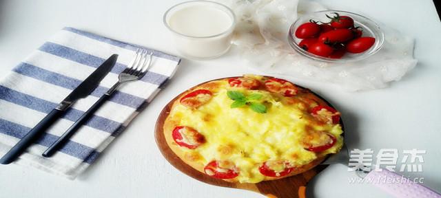 榴莲披萨成品图