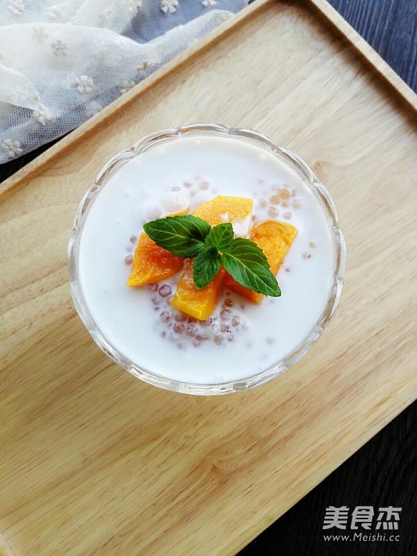 椰汁芒果西米露怎么煮