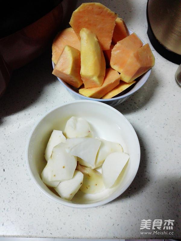 鲜芋仙之三色芋圆怎样煸