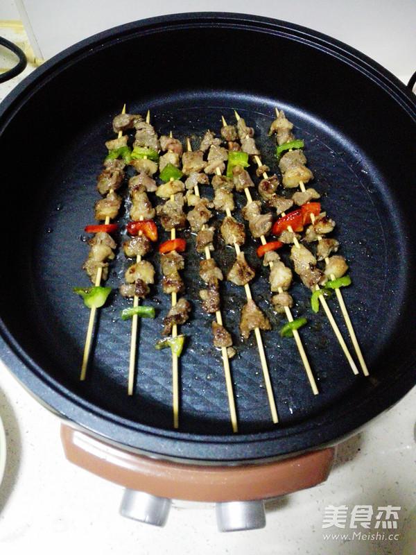 香烤羊肉串怎样做