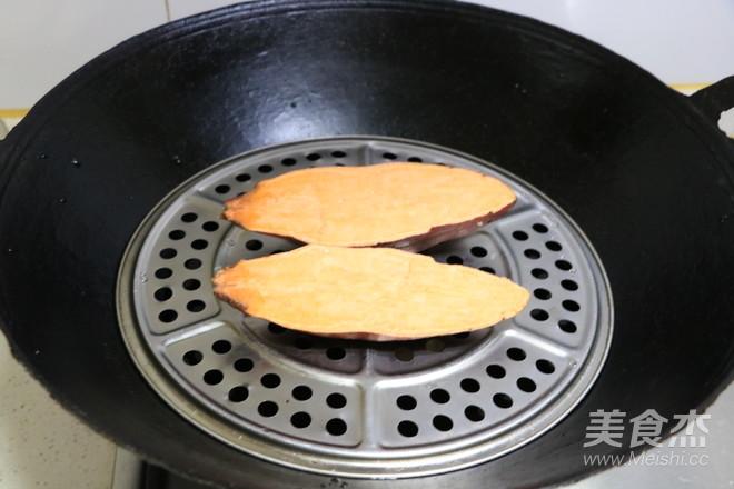 芝士焗红薯的做法图解