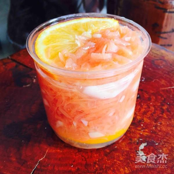 柠檬蜂蜜红心柚子茶怎么炖
