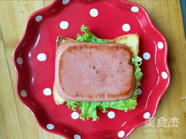 火腿三明治怎么煮