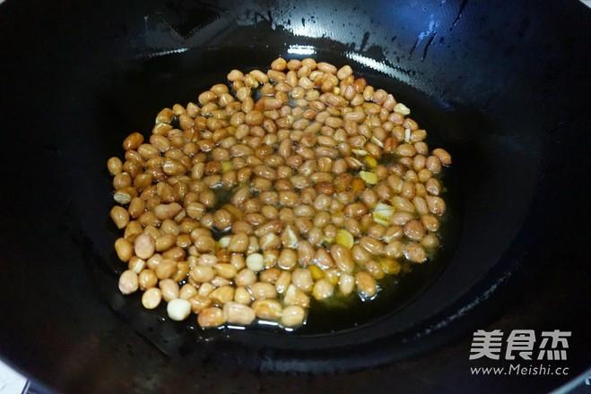 脆果仁拌菠菜的做法大全