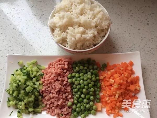 咖喱杂蔬炒饭的做法大全