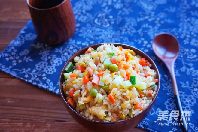 咖喱杂蔬炒饭怎么炒