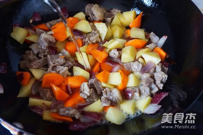 咖喱牛肉饭怎么煮