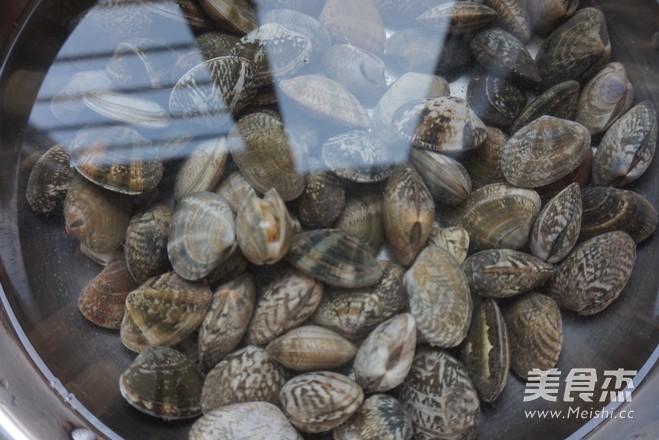 黑胡椒爆花蛤的做法大全