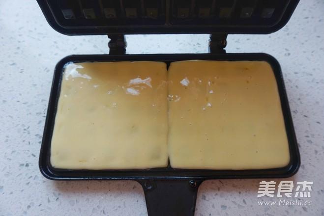 华夫饼(无泡打粉)怎么煮