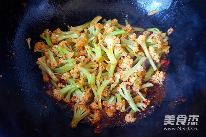 干煸有机菜花怎么煮