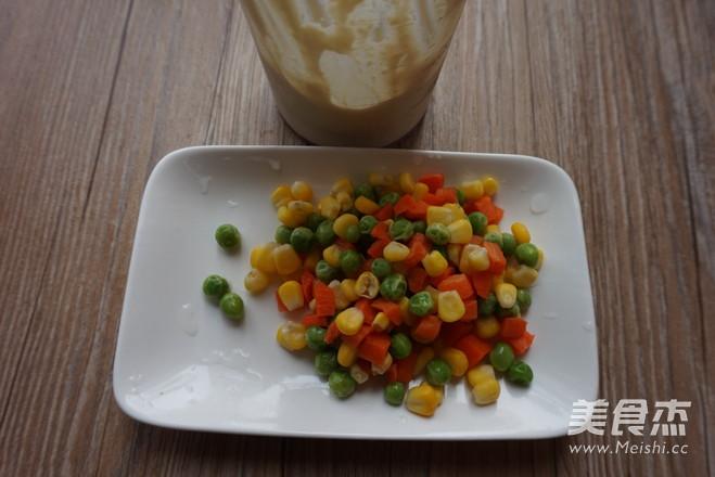 低脂杂蔬豆腐派的简单做法