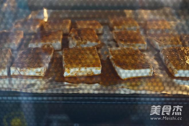 麻辣香烤豆腐怎么炒