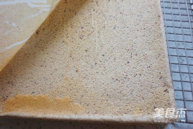 豆沙蛋糕卷的制作