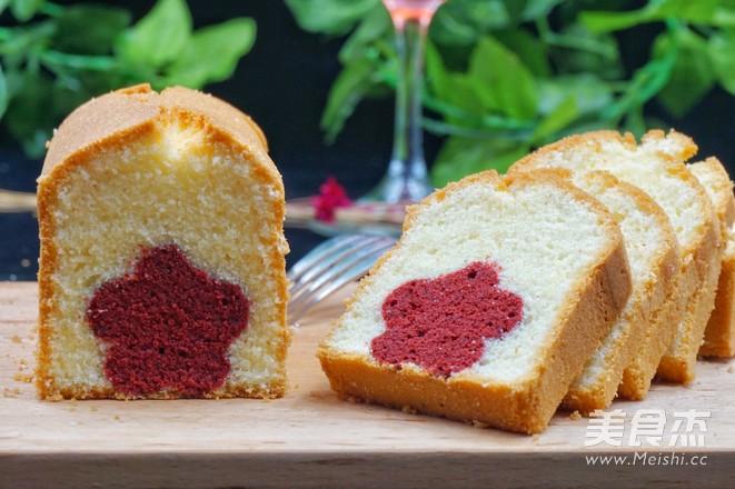 心花怒放磅蛋糕的做法大全