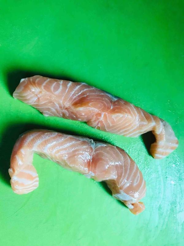 海苔三文鱼芝麻松的做法大全