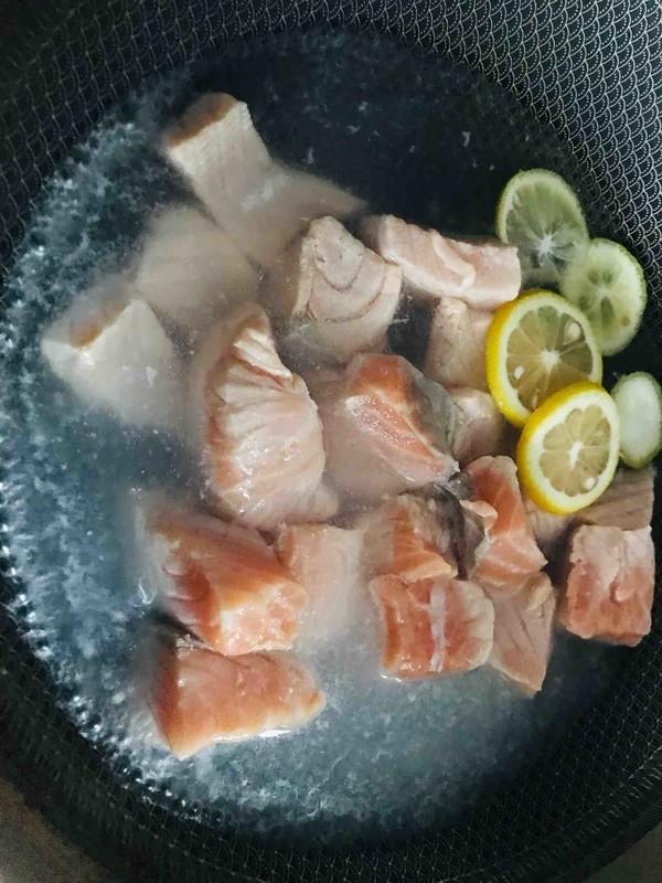 海苔三文鱼芝麻松的简单做法