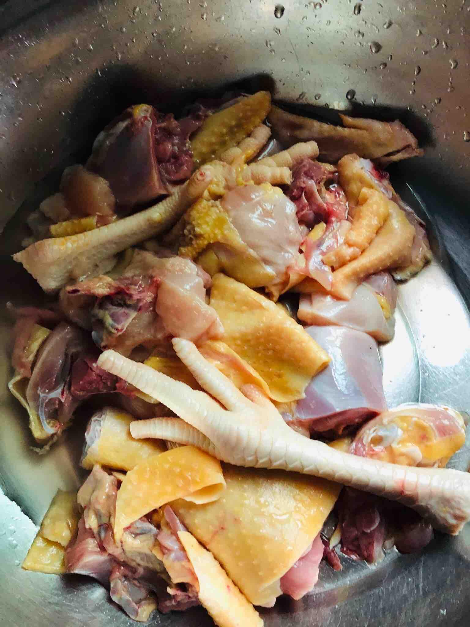 芦花鸡蘑菇汤的做法图解