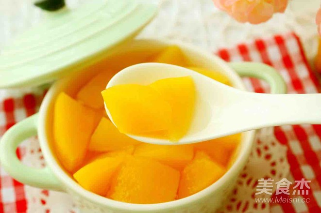 自制黄桃罐头怎么炒