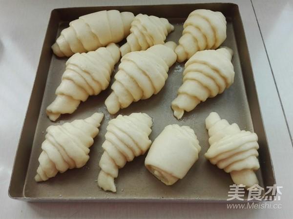中式面点起酥牛角包怎样做