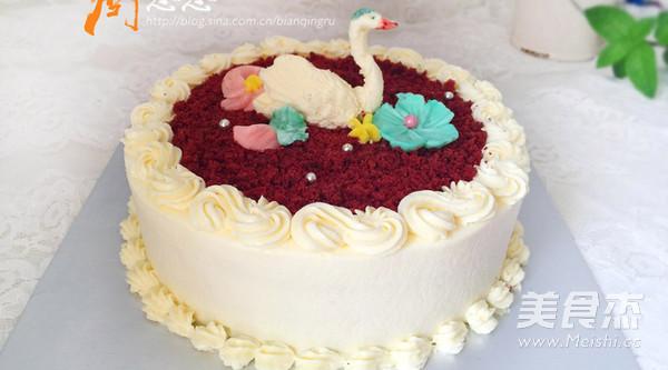 红丝绒蛋糕的步骤