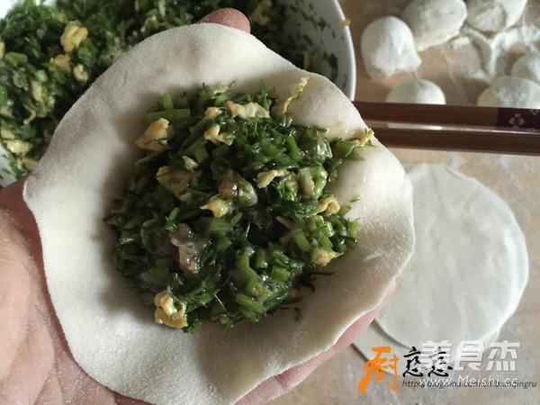 茴香锅贴怎么吃