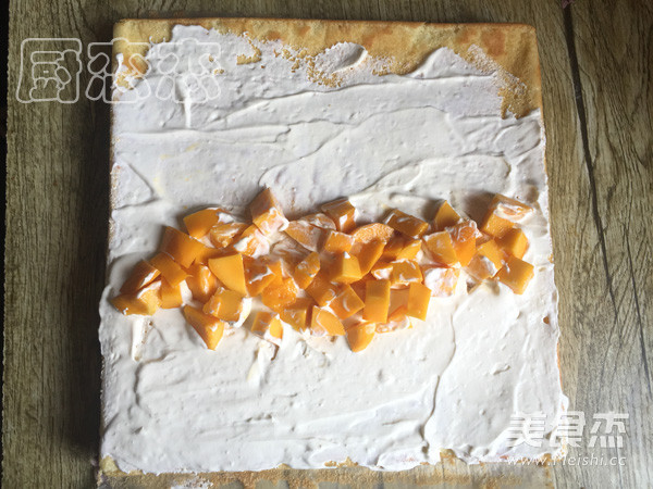 芒果蛋糕卷怎么煸
