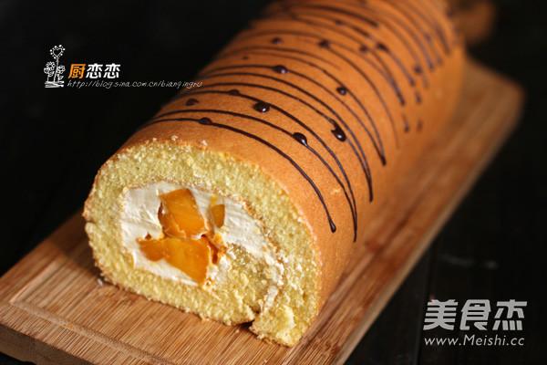 芒果蛋糕卷怎样做