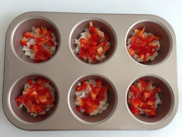 蔬菜烘蛋的步骤
