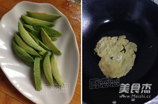 肉蛋三文鱼寿司的做法图解