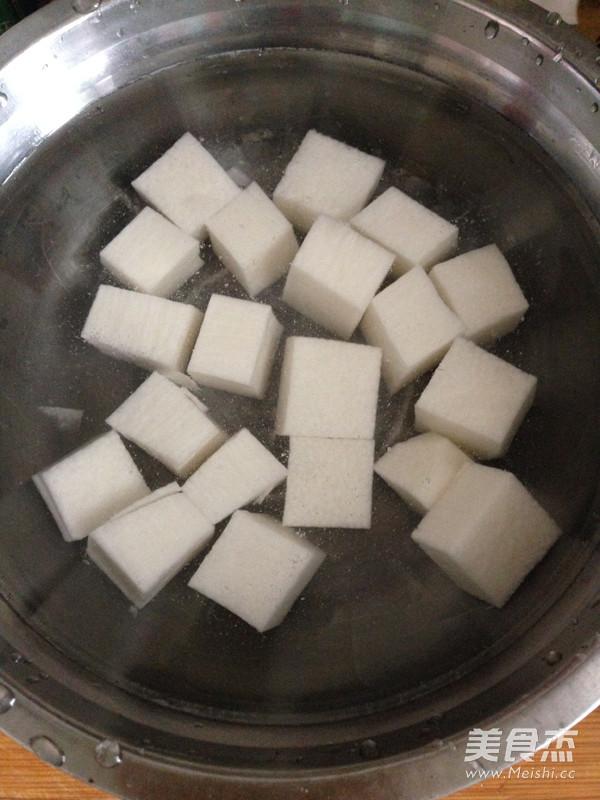 蜜豆山药的简单做法