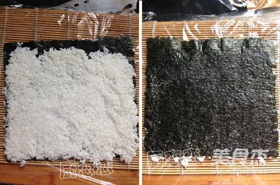 肉蛋三文鱼寿司的家常做法