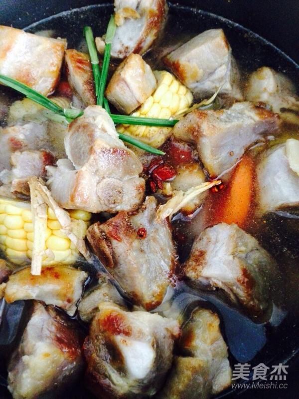 腊排骨炖藕怎么煮