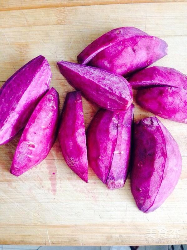 蒸紫薯的做法图解