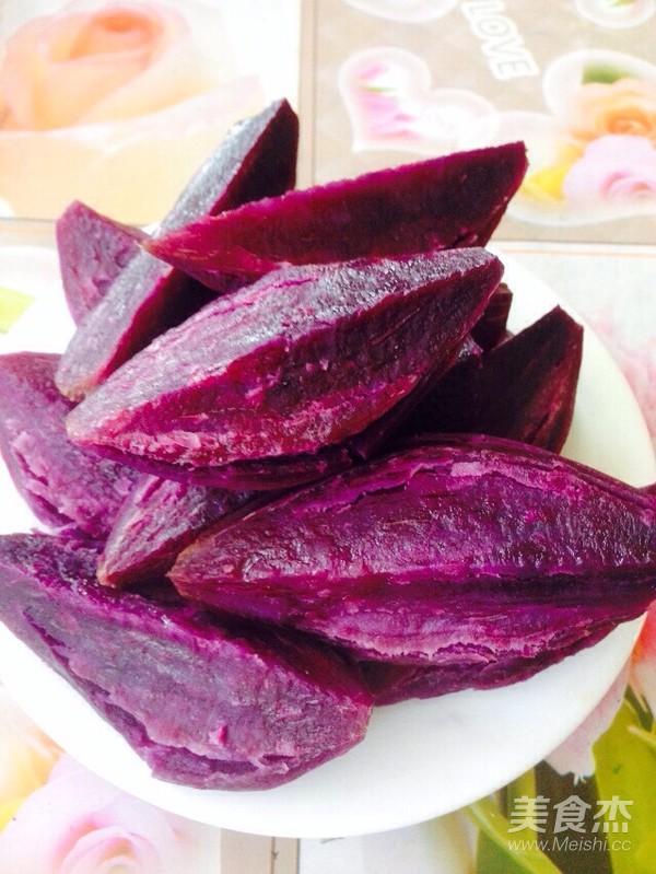 蒸紫薯的简单做法