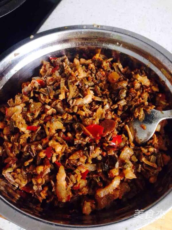 干豇豆猪肉包的家常做法