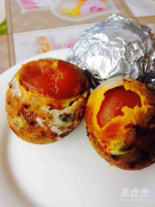 香菇腊肠糯米蛋怎么煸