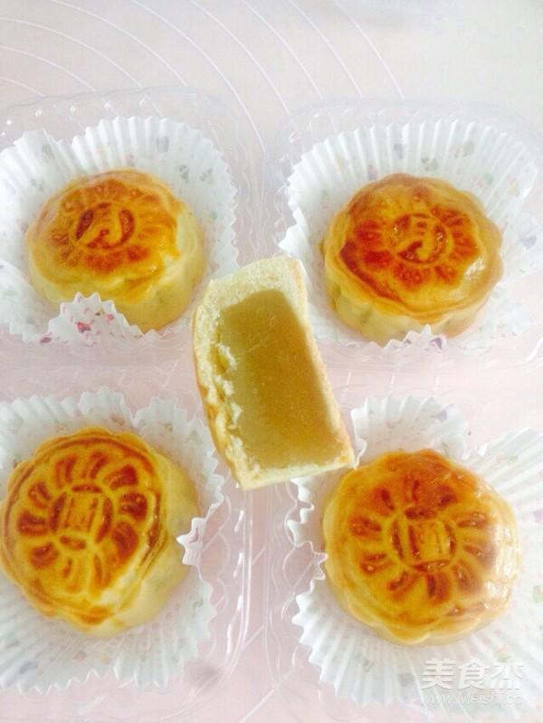 莲蓉月饼的制作