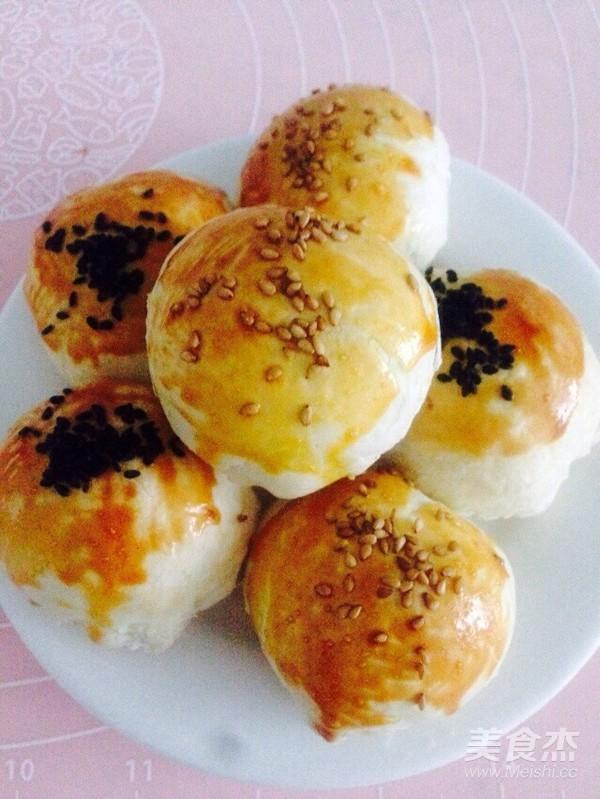 莲蓉蛋黄酥的制作方法