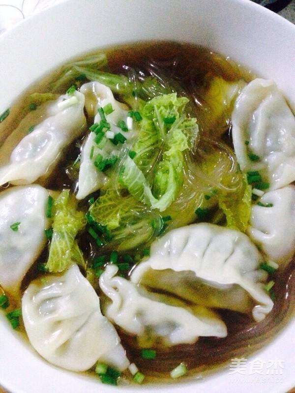 酸辣白菜粉条煮饺子怎么煮