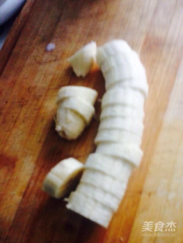 香蕉纯牛奶奶昔的做法图解