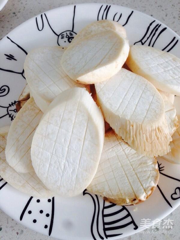 菠萝杏鲍菇的做法图解