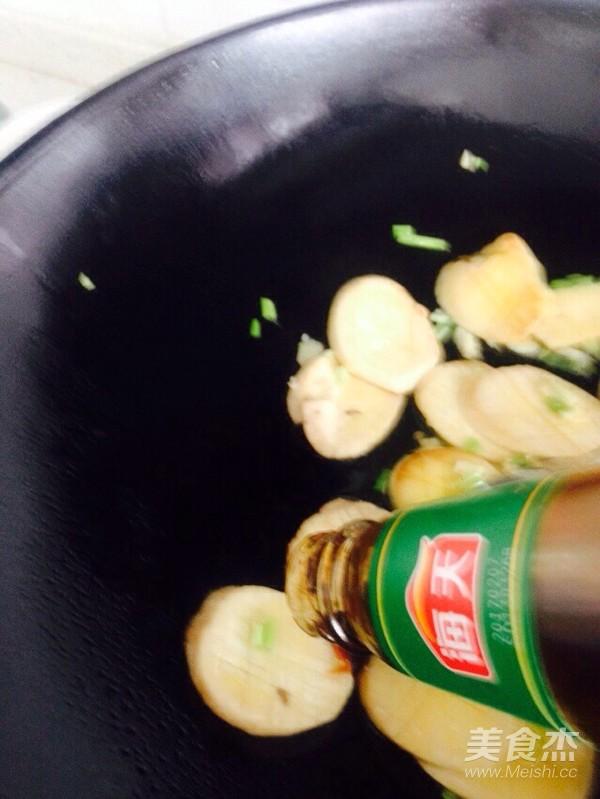 柿子椒炒杏鲍菇怎么做