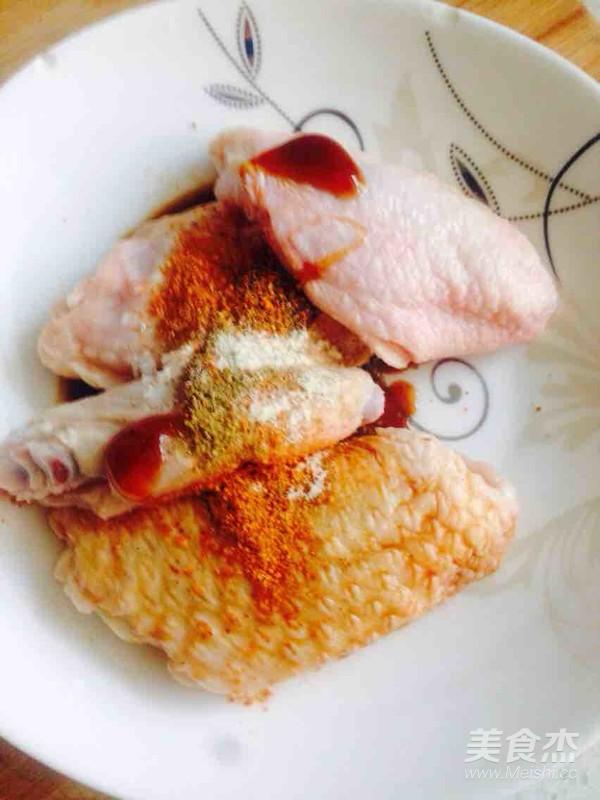 菠萝烤鸡翅的做法图解