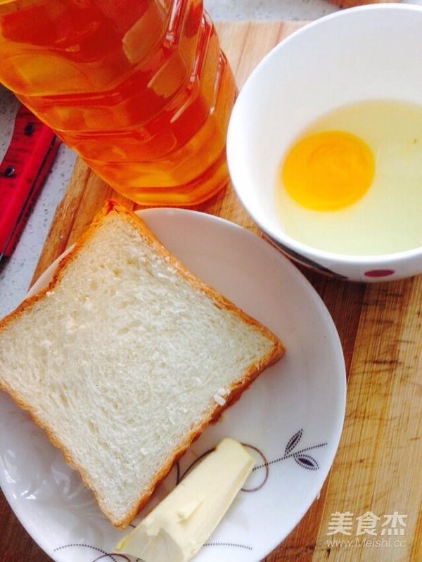 鸡蛋蜂蜜黄油煎吐司的做法大全