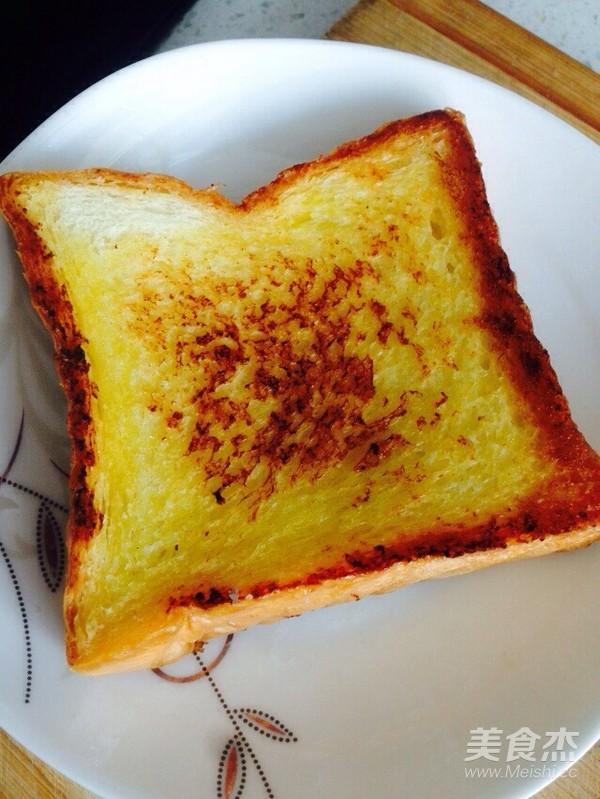 鸡蛋蜂蜜黄油煎吐司怎么吃