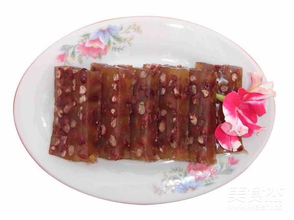 红豆马蹄糕成品图