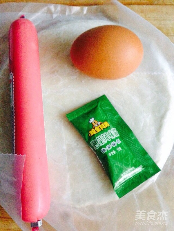 泡菜风味鸡蛋火腿手抓饼的做法大全