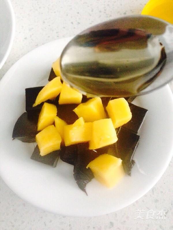 蜂蜜芒果龟苓膏怎么煮