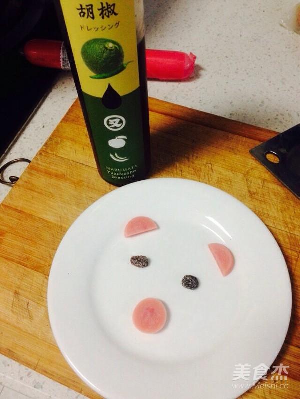 酱油蒸小猪水蛋的做法大全